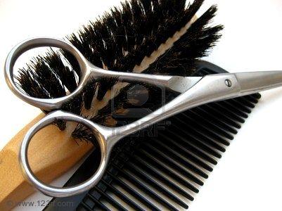 parrucchiere, strumenti