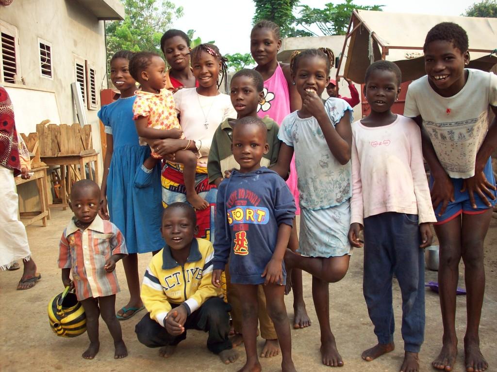 africa, bambini, benin