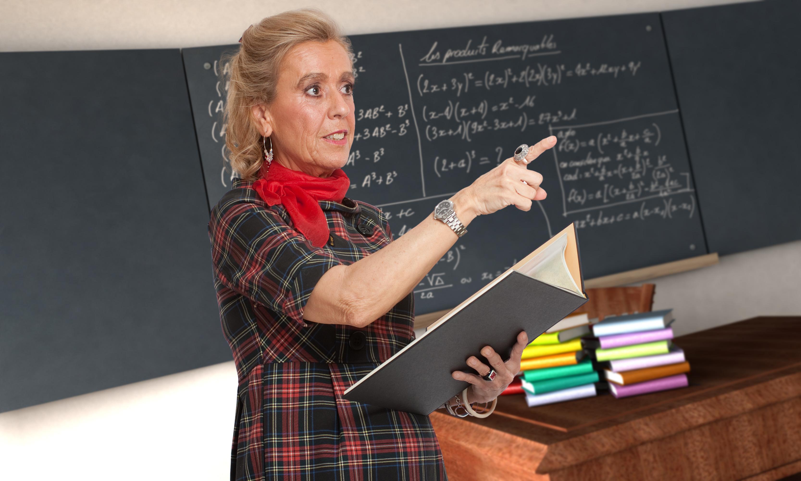 scuola, professoressa, insegnante