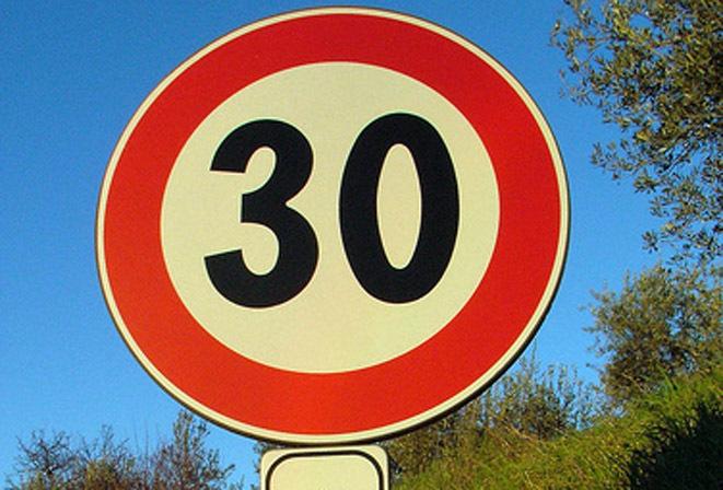 zona 30, viabilità, velocità