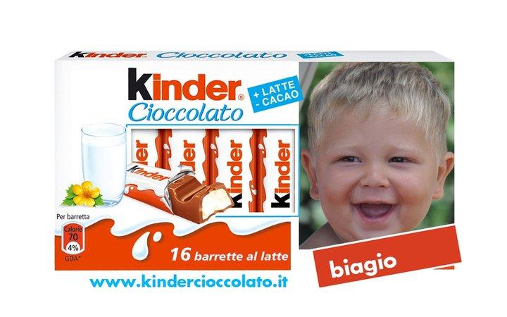 Biagio, Pagliuca, Kinder cioccolato