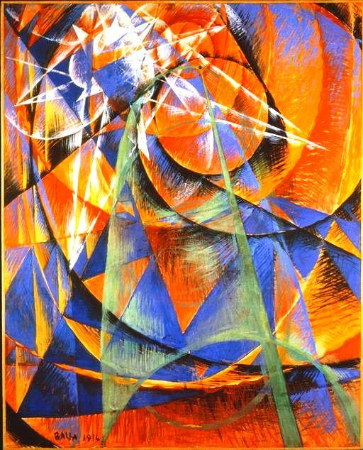 Giacomo Balla futurismo dipinto quadro