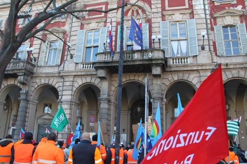 sciopero atm amiu palazzo rosso