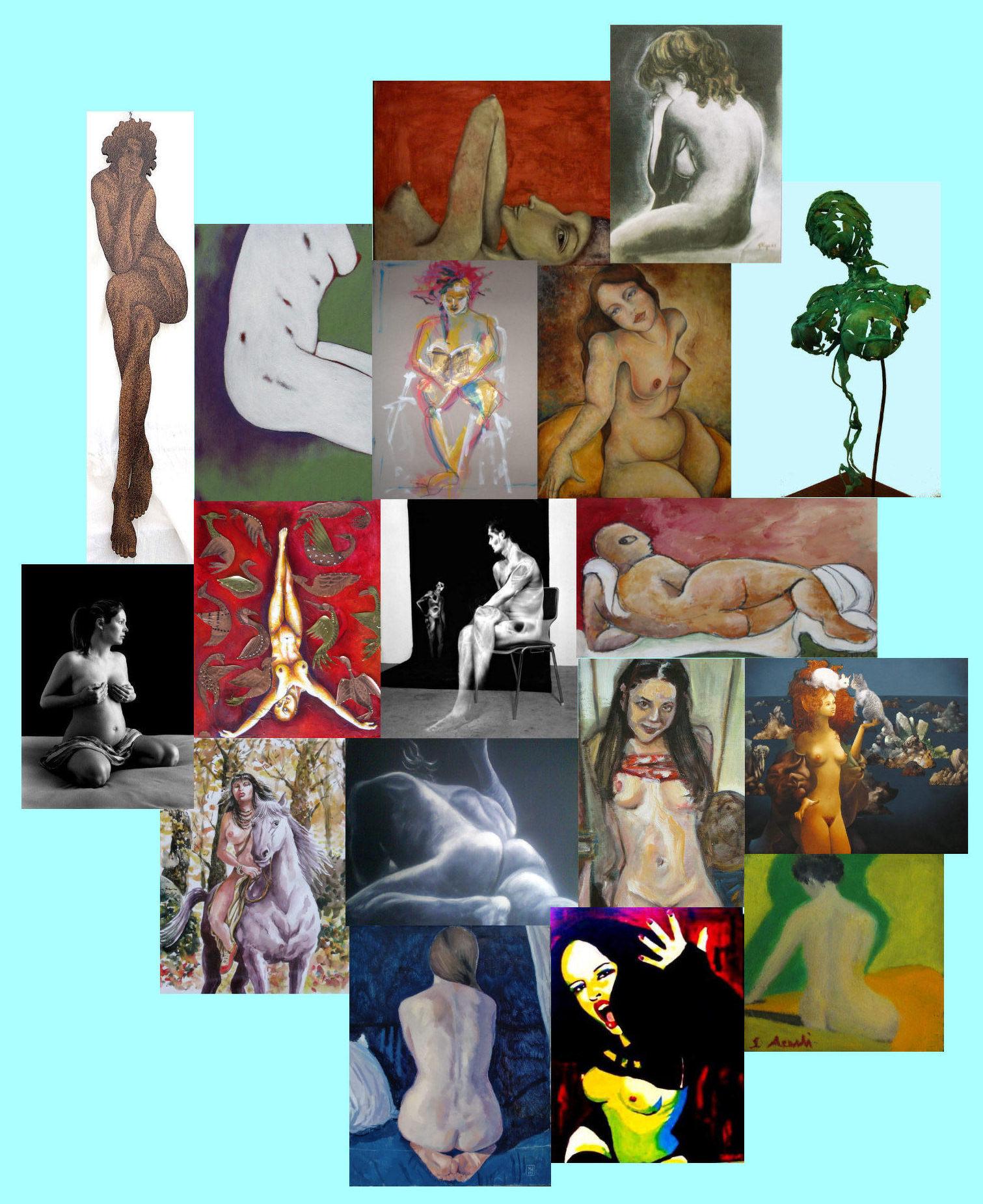 mostra nudo arte