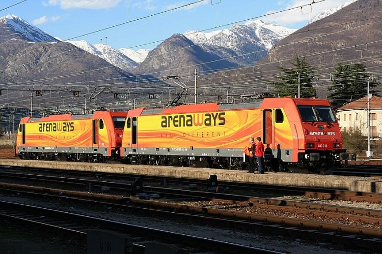 arenaways treno ferrovia