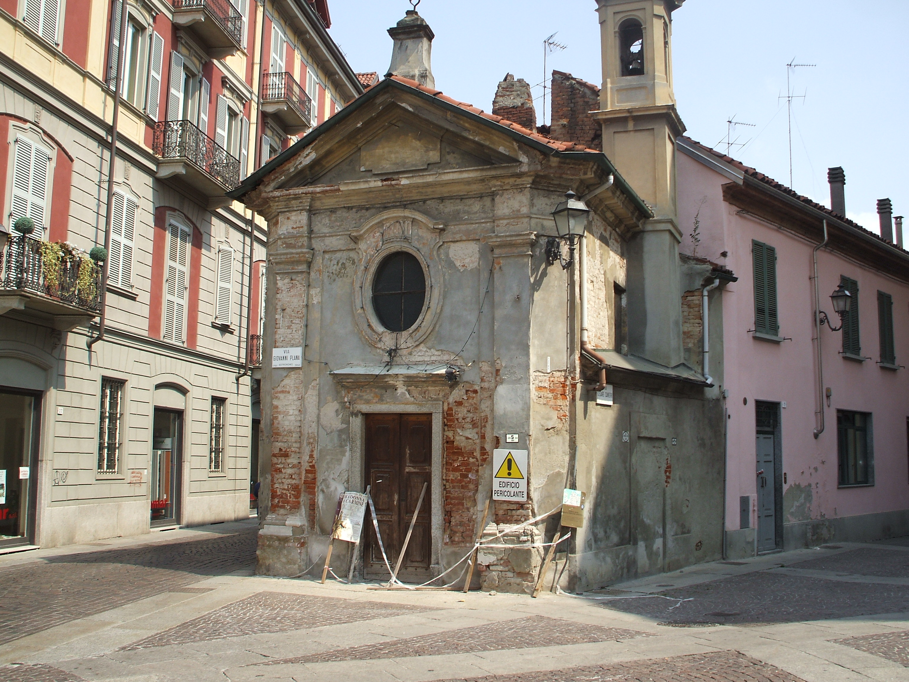 chiesetta di via guasco