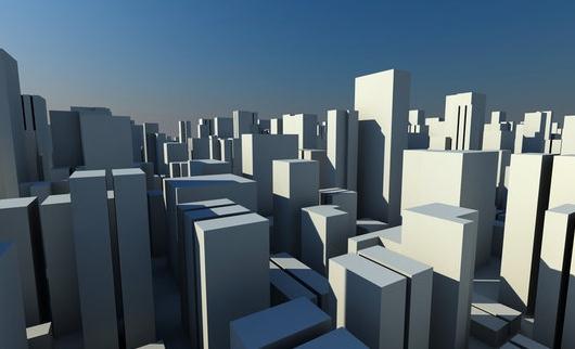 città, progetto, palazzi