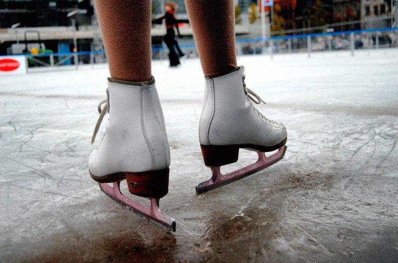 pattini, pista su ghiaccio