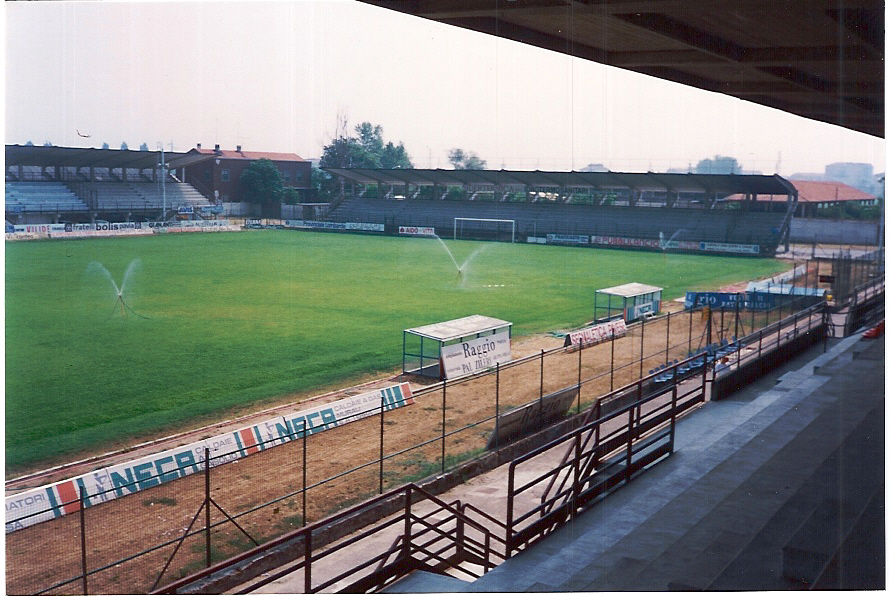 pavia, Stadio, calcio