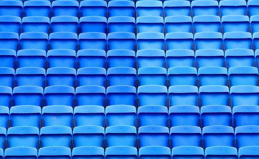 stadio, sedili