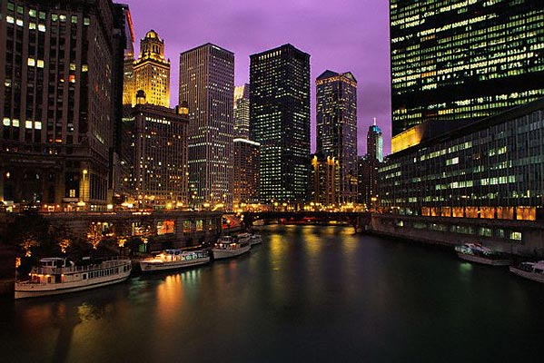 chicago usa america grattacielo metropoli