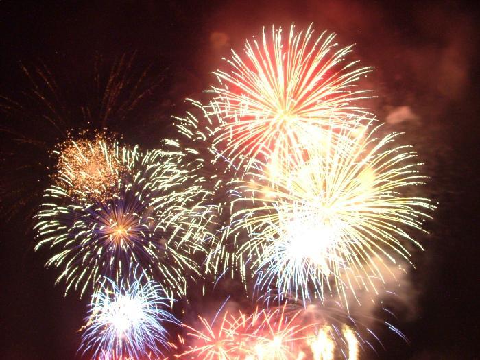 fuochi artificio spettacolo pirotecnico