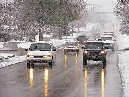 neve, strada