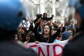 rivolta studenti