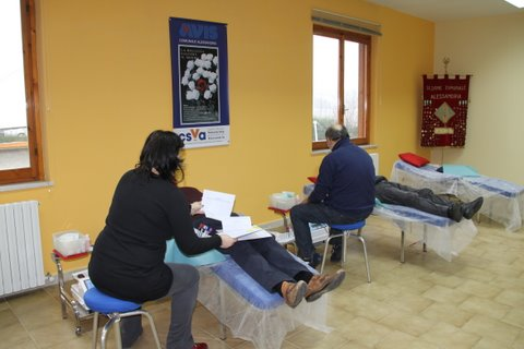 Avis, donazione sangue