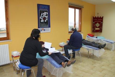 avis donazione sangue prelievo