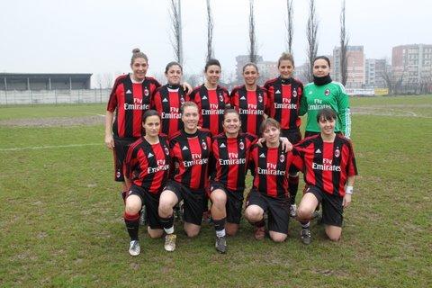 milan calcio femminile