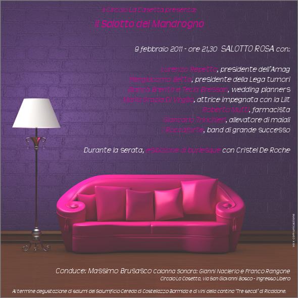 Salotto rosa