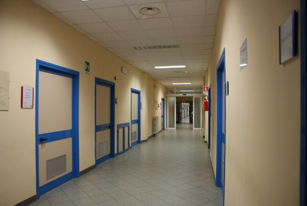 tortona, ospedale, corsia