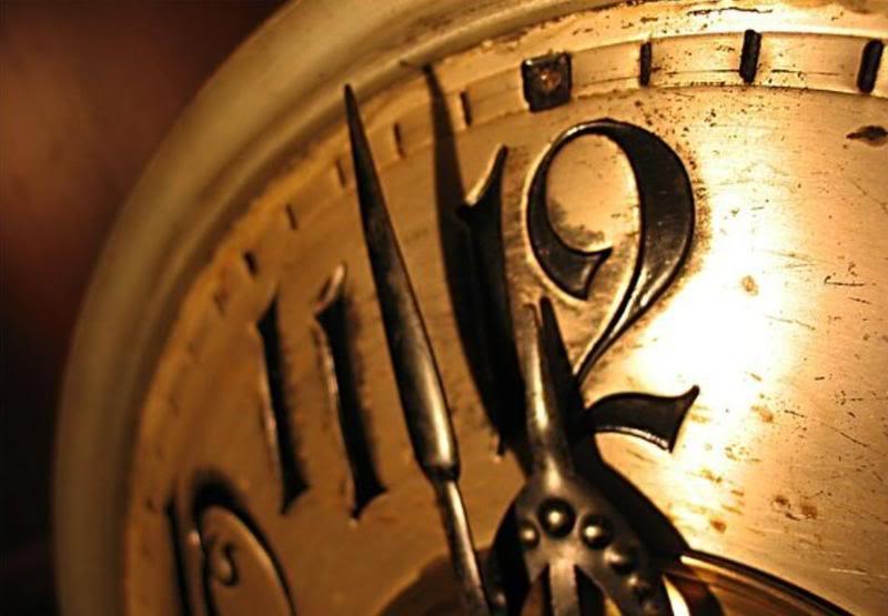 mezzanotte, orologio