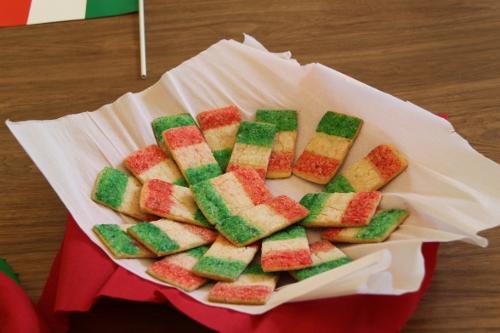 biscotti tricolore