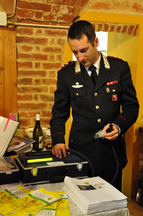 coldiretti, carabinieri, etilometro