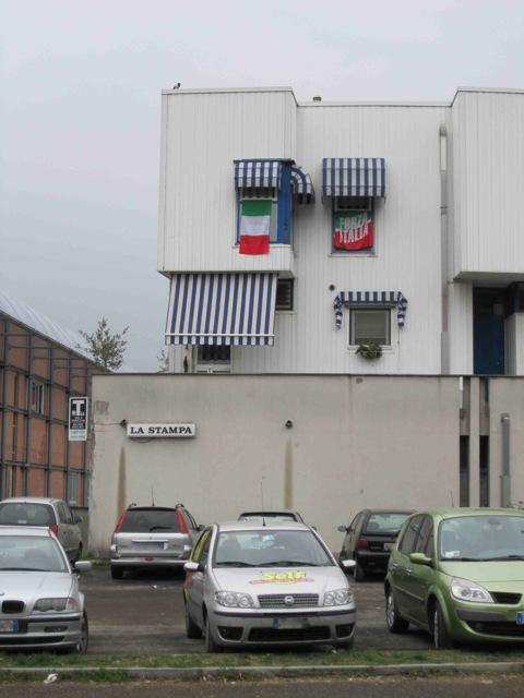 bandiera tricolore forza italia