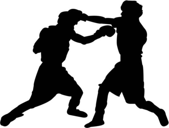 boxe, ring, pugni, rissa