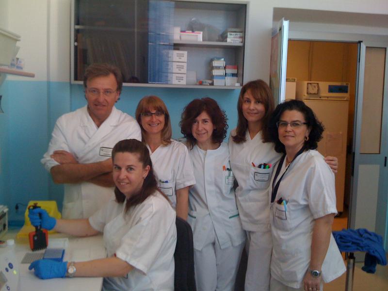 laboratorio hla, ospedale, infermieri