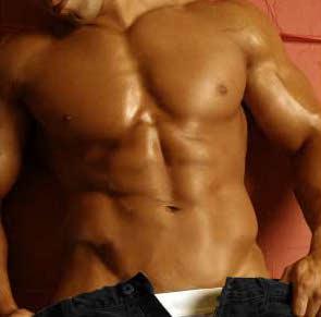 uomo, stripman, maschio