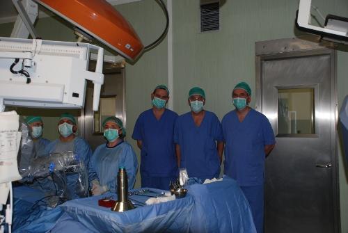 chirurghi polacchi ospedale robotica