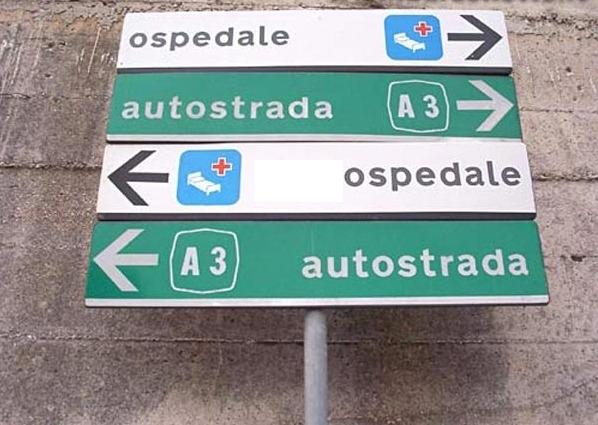 cartelli stradali viabilità