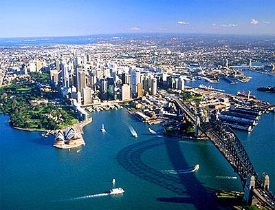 sydney australia mare panorama