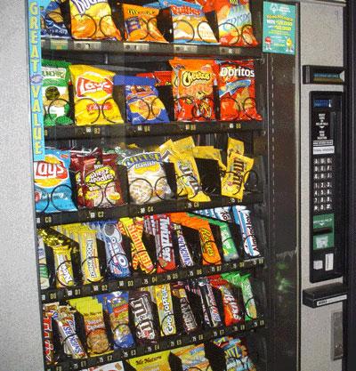 vending distributore merendine snack