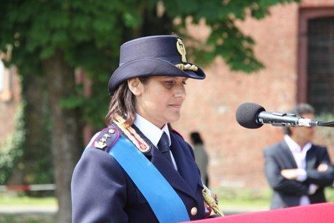 marina di donato festa polizia