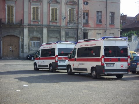 profughi ostello 118 ambulanza