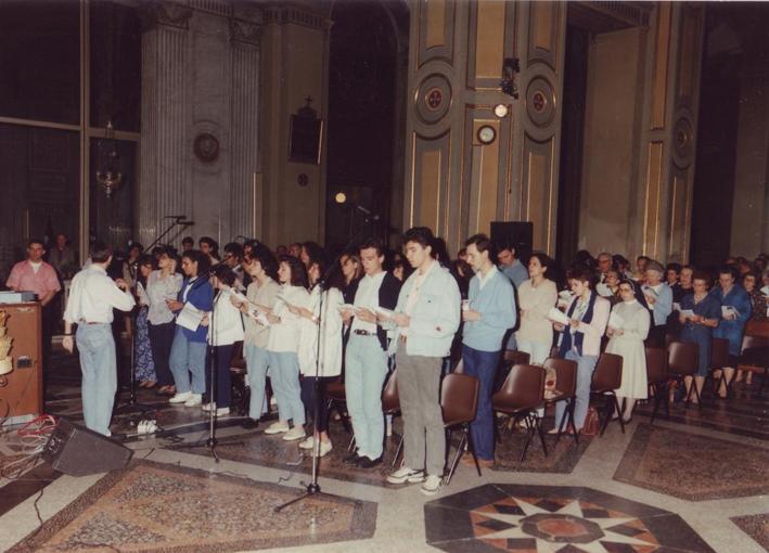 coro diocesiano (primi anni '90)