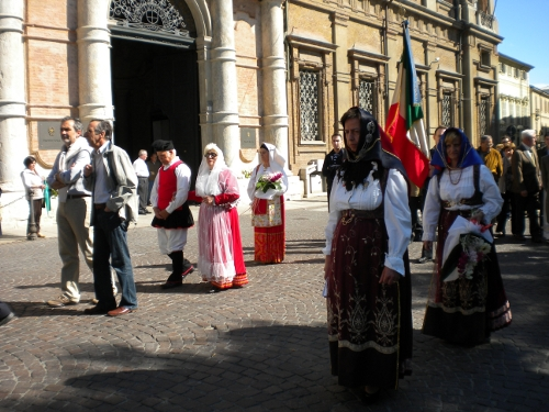 sardi processione salve