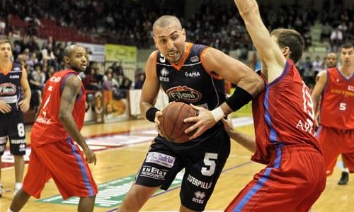 Fastweb Casale, basket