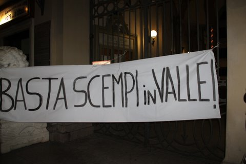 valle san bartolomeo protesta