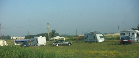 nomadi roulotte camper zingari solero