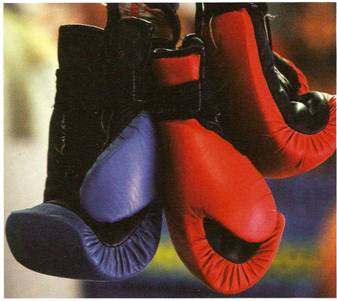 guantoni, boxe