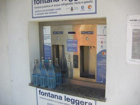 distributore acqua mirabello