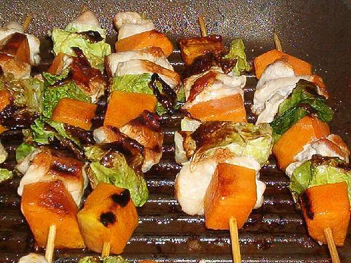 spiedini carne grigliata