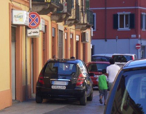auto scuola guida, parcheggio