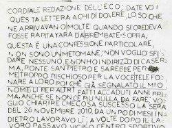 lettera yara