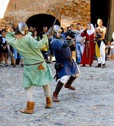 festa medioevale, cassine