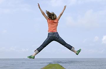 felicità salto