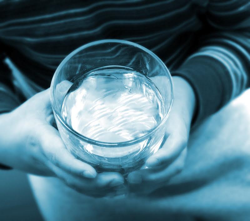 acqua, bere, bicchiere, sete