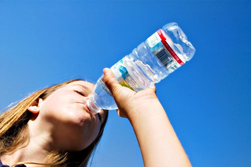 acqua, bere, bottiglia, sete